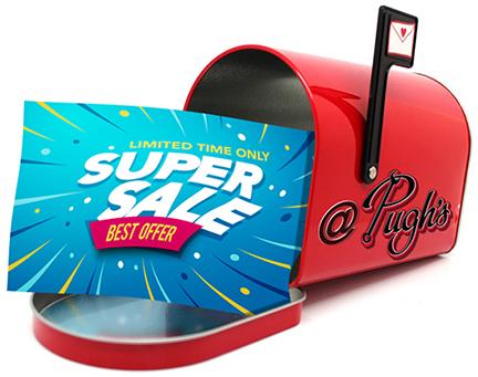 Join Pugh's Auto Service Mailing List